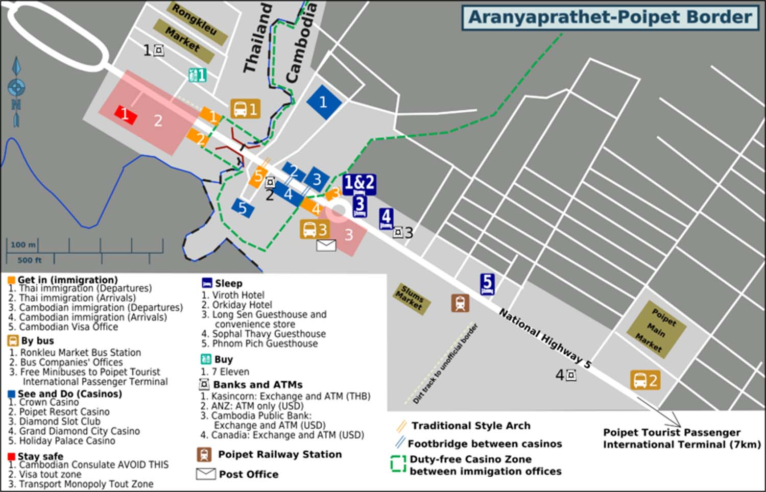 Poipet Cambodia  city images : Poipet Map. Maps of Poipet. Cambodia Map